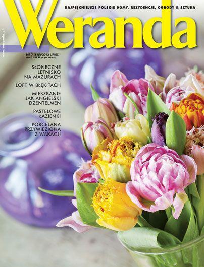 Okładka magazynu Weranda 7/2012 www.weranda.pl