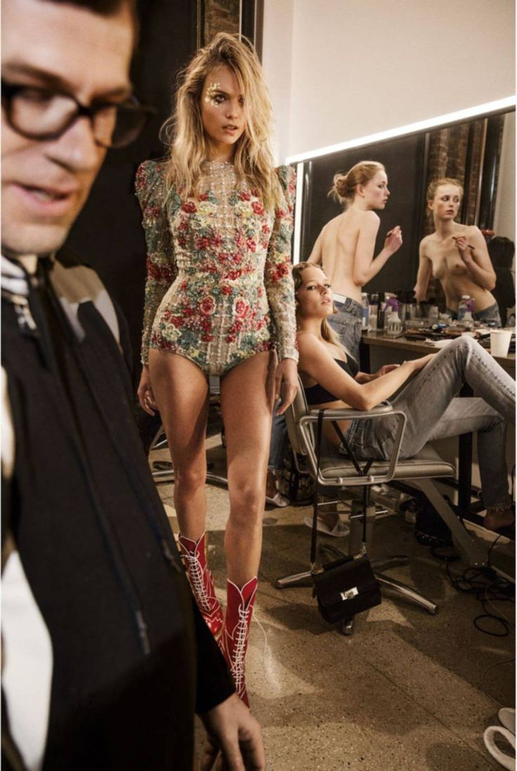 Natasha Poly (wearing Zuhair Murad) by Inez Van Lamsweerde & Vinoodh Matadin for Vogue Paris June /July 2016.