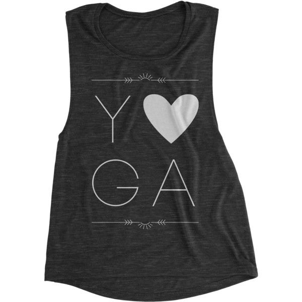 Love Yoga Yoga Tank Top Gym Tanks Yoga Top Workout Tank Tops and Tees... (26 CAD) ❤ liked on Polyvore featuring activewear, activewear tops, black, tanks, tops, women's clothing, muscle tank, workout shirts, checked shirt and workout muscle tanks