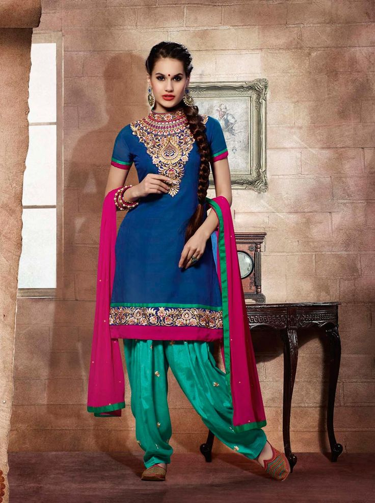 1000 images about patiala salwar kameez on pinterest - Punjabi desi pic ...