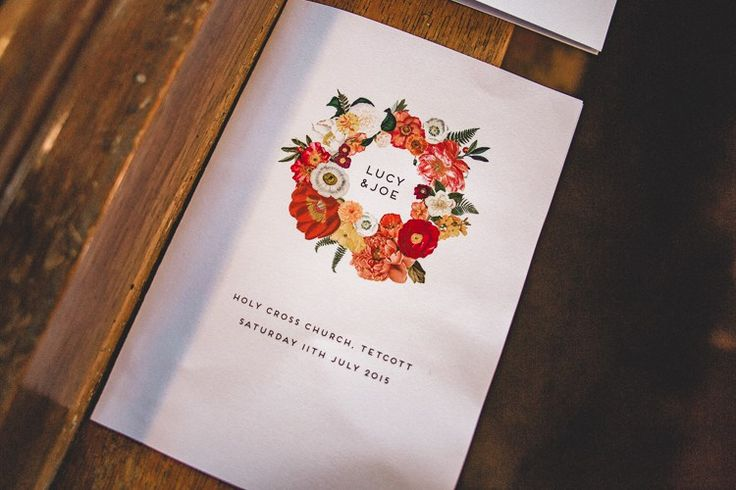 Floral Stationery Country Crafty Colourful Weekend Party Wedding http://www.noeldeasington.com/