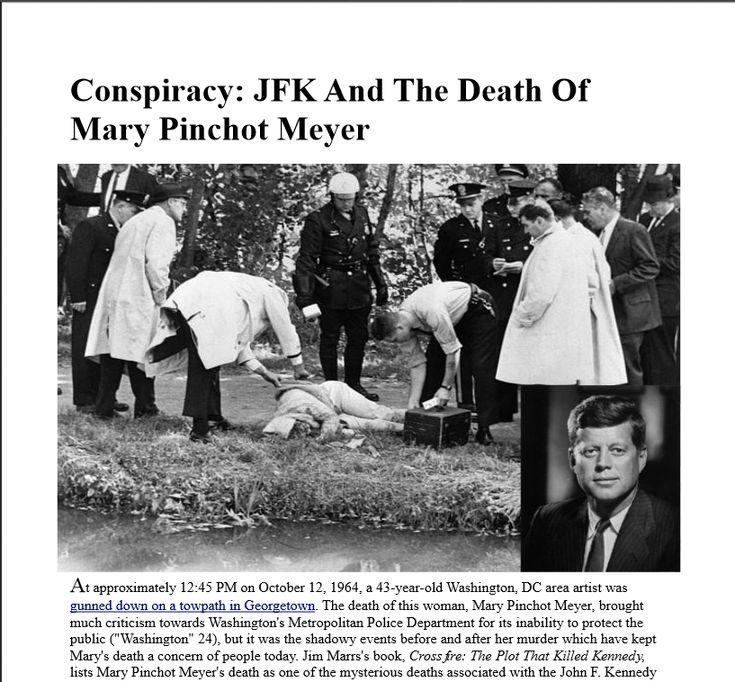 John F Kennedy Death Quotes: 58 Best Mary Pinchot, Cord Meyer , E. Howard Hunt ,JFK The