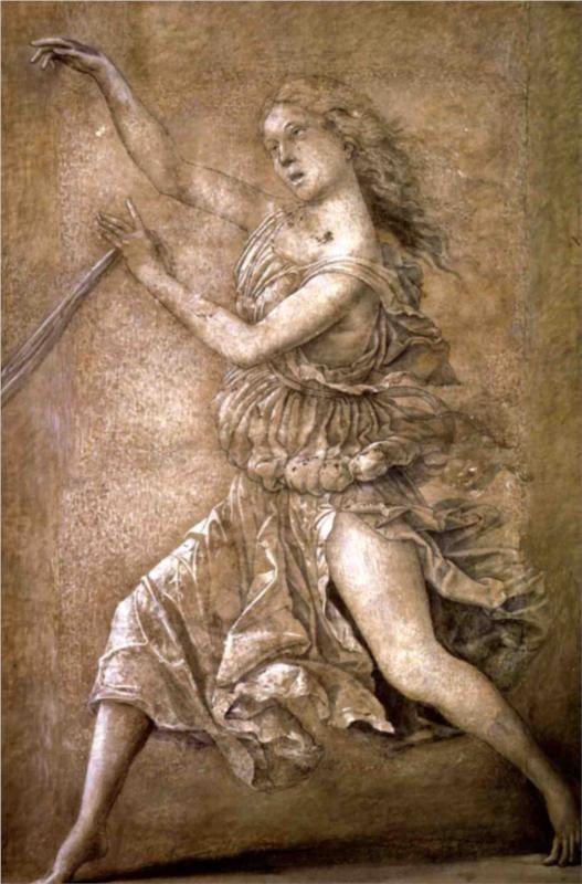Andrea Mantegna - Muse. Tags: muses,