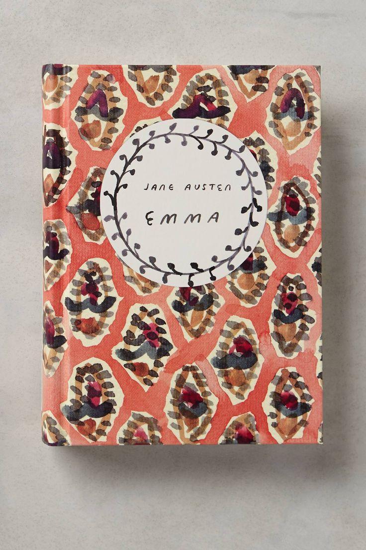 Jane Austen's Emma | Cover design by graphic artist Leanne Shapton