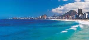 Copacabana beach is an extremely popular beach in this area. This represents some recreational aspects of the city. http://academic.eb.com.ezproxy.baylor.edu/levels/collegiate/article/109485/media