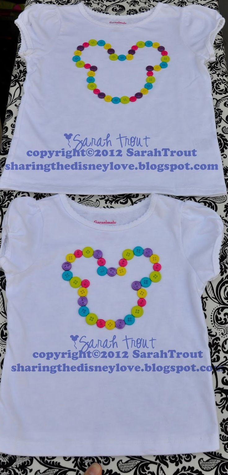 Create your own designs amp sell your design online shirts zazzle - Sharing The Love No Sew Shirts For Disney Button Shirts