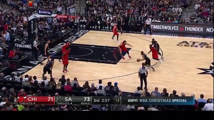 Chicago Bulls vs San Antonio Spurs Full Game Recap Dec 25 2016