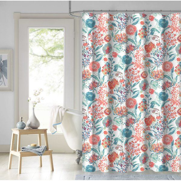 You Ll Love The Estinville Garden 100 Cotton Shower Curtain At