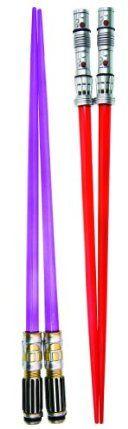 Amazon.com: Kotobukiya Star Wars Darth Maul and Mace Windu Lightsaber Chopsticks: Toys & Games