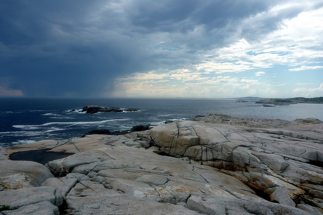 The mood on this day paddling near Peggy's Cove in Nova Scotia was absolutely amazing. We had our picnic nearby. Taken July 2nd, 2012