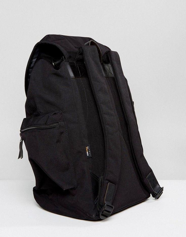 Sandqvist Lars-Goran Cordura Backpack in Black - Black