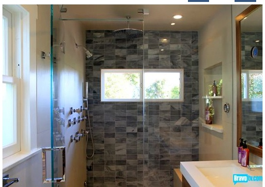 247 best images about bathrooms on pinterest master for Jeff lewis bathroom design ideas