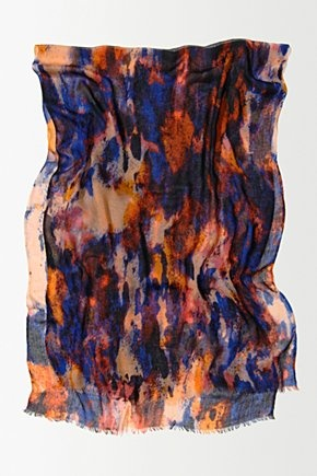 Painterly Sparks Scarf - Anthropologie