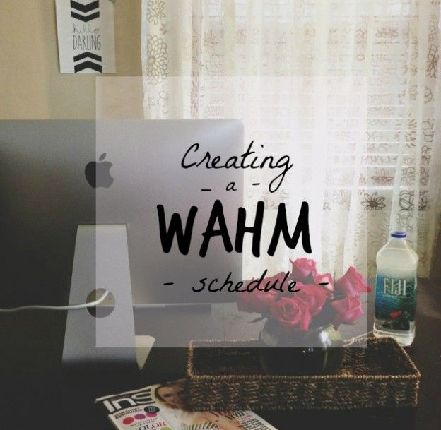 Creating a Work-at-Home Mom Schedule