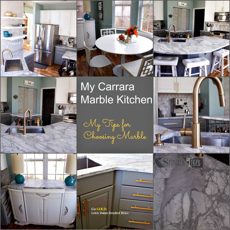 my carrara marble kitchen and tips for how to choose and
