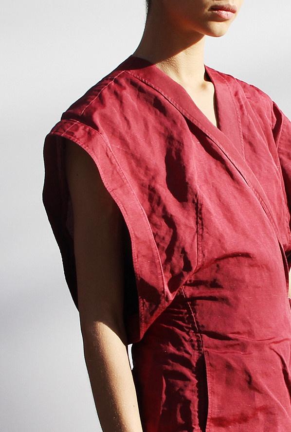 Jeremy Lang: Kimono Vest