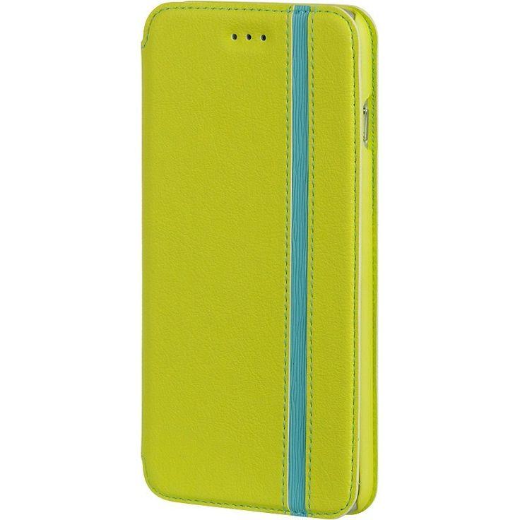 DW Premium Modern Wallet iPhone 6/6S Plus Case - Green/Blue *Sale
