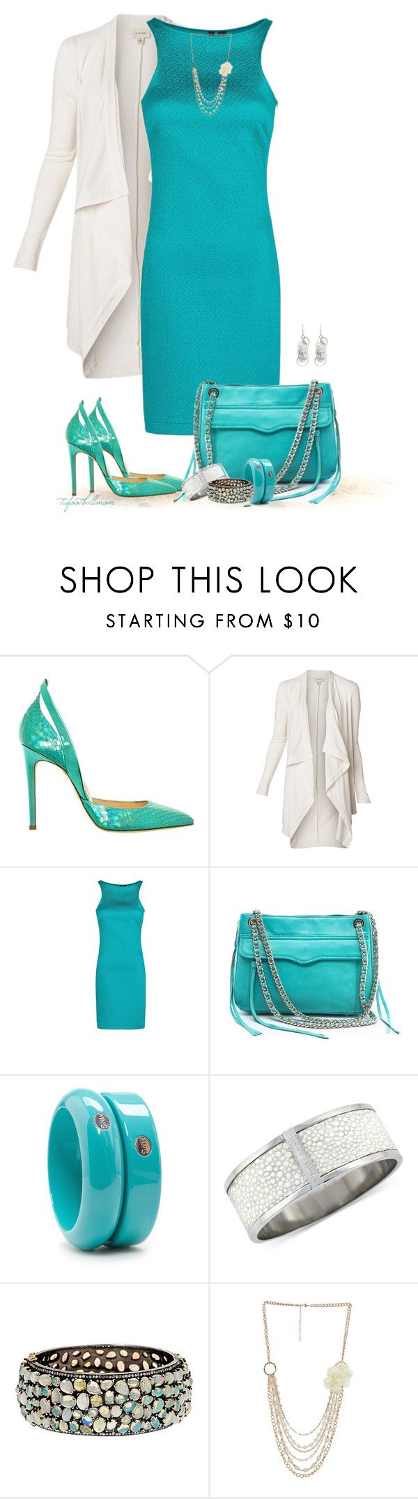 Chain Bag by tufootballmom on Polyvore featuring MANGO, Witchery, Alejandro Ingelmo, Rebecca Minkoff, Vince Camuto, Oasis and Wet Seal