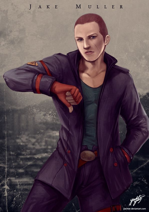 re6 jake by yachter
