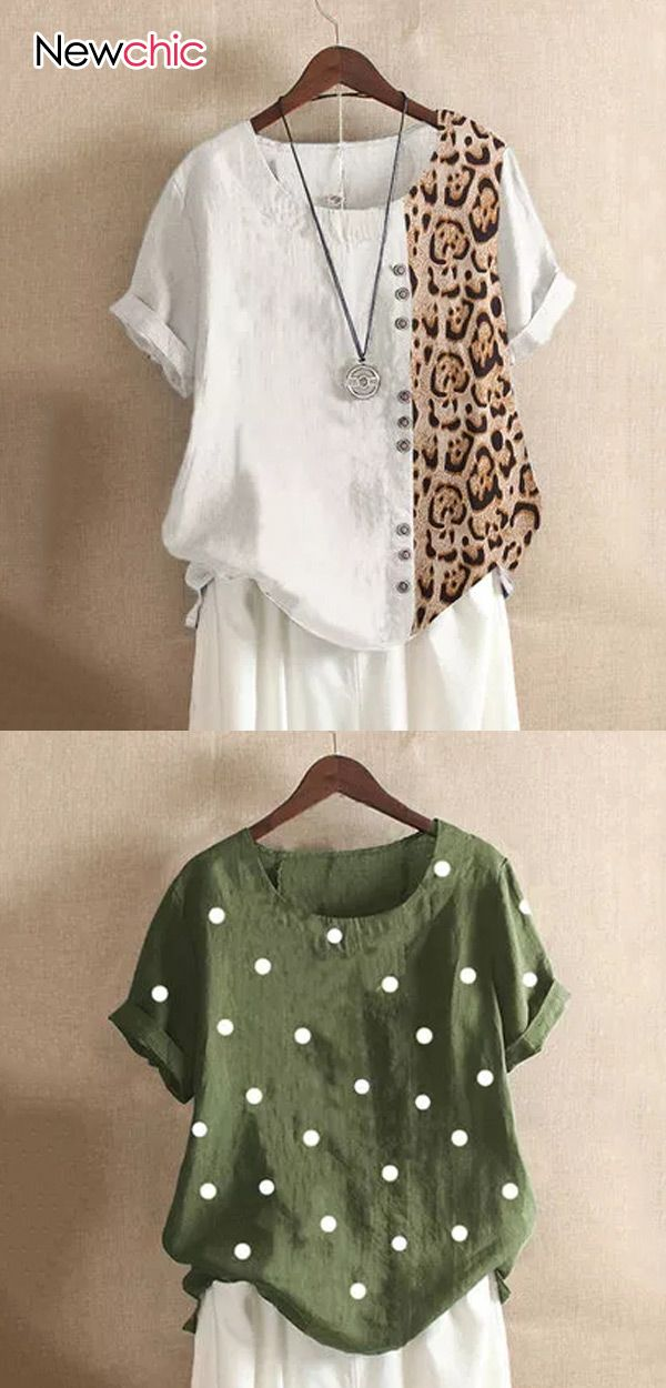 Women #Casual #Vintage Print Blouse, Best #Outfits for #Daily! Up to 70% OFF