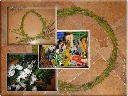 Wielknocne Wianki Z Wierzb I Brzozy 1 Wielkanoc Pinterest