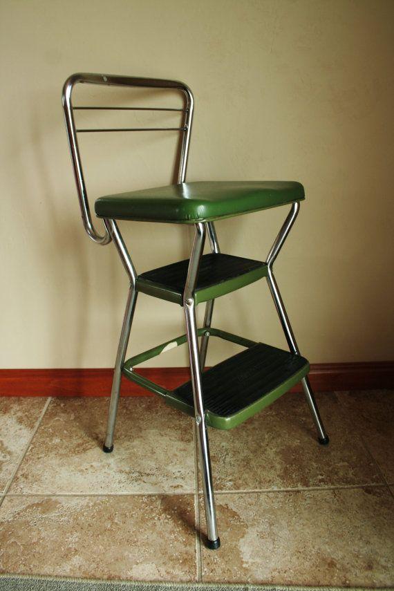 Retro Green Cosco Step Stool Retro Furniture Retro