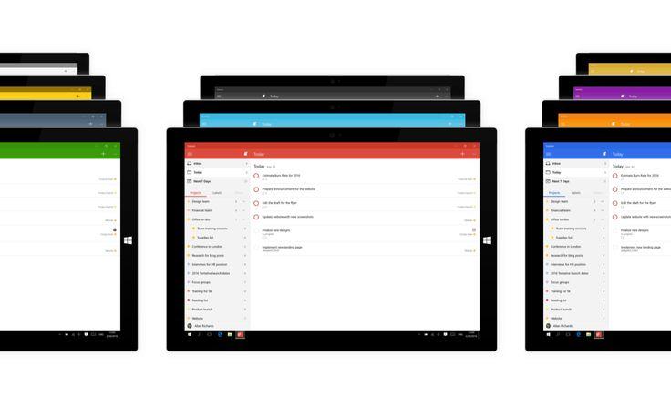 Todoist évolue et dévoile son application pour Windows 10