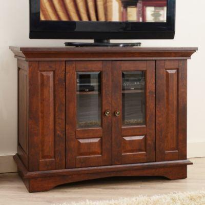 Furniture Of America 37 Hartigan Walnut Tv Stand