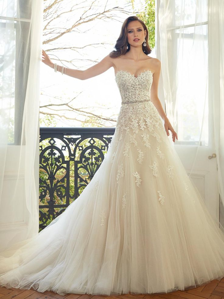 86 best Brautkleider • wedding gowns images on Pinterest | Bridal ...