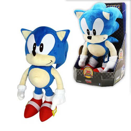 Sonic 20th Anniversary Classic Sonic Plush Toy 15""
