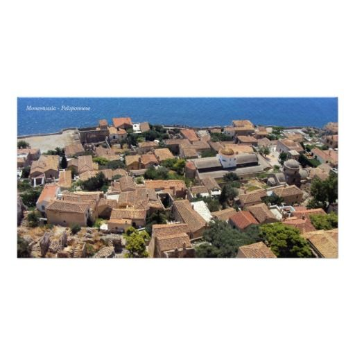 Monemvasia – Peloponnese Photo Cards