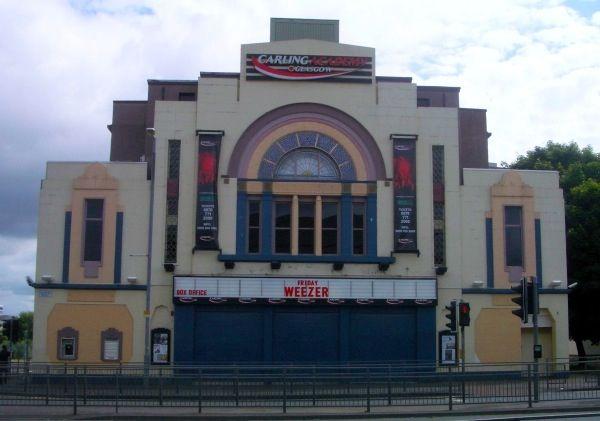 O2 Academy, formerly the Bedford Cinema . On Eglinton street