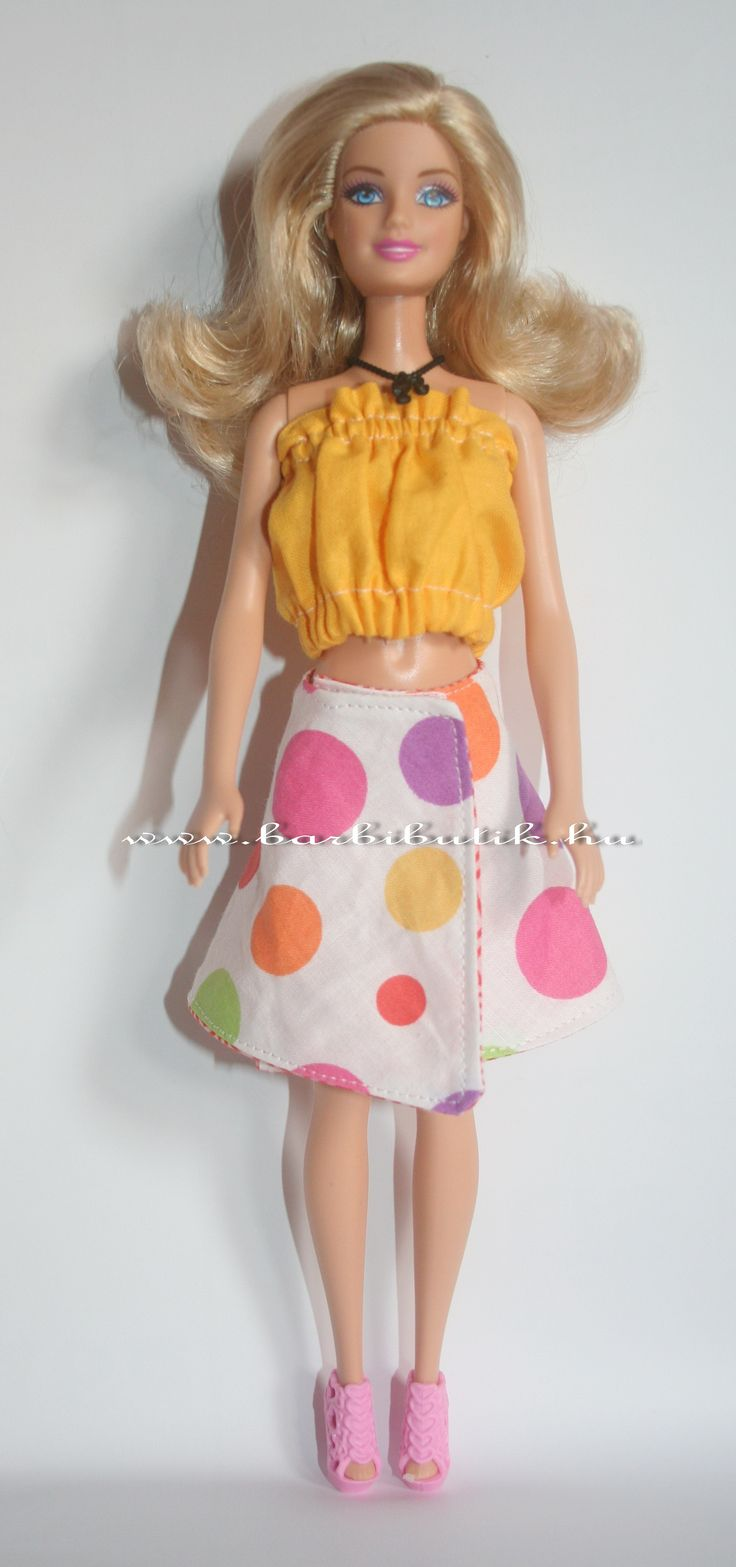 Barbie lapszoknya. / Barbie skirt