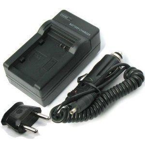EPG Battery Charger for PENTAX D-Li50 kompatibel mit Pantax Digital Camera K10 K10D K20D With US Flip, EU Plug and Car adapter