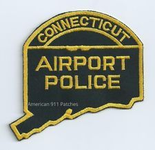 Connecticut Airport Police Patch (CT)