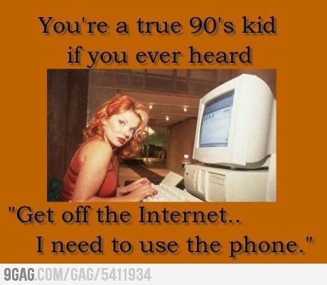 oh dial up... how i will never miss you.