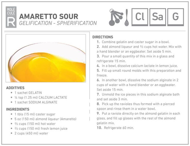 Amaretto sour and Recipe on Pinterest