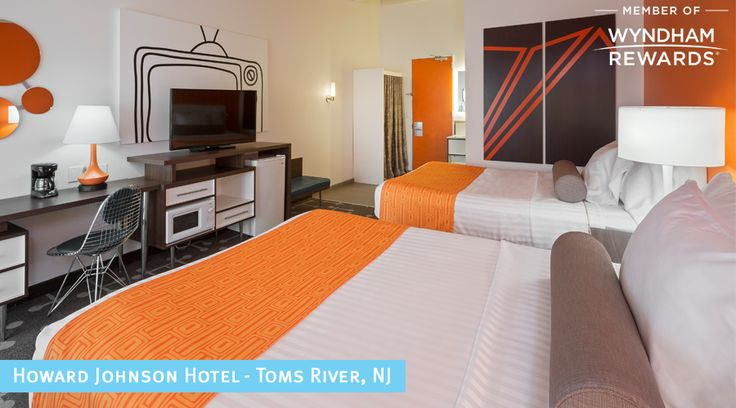 Enjoy the best of the Atlantic Coast this summer at our #PropertyOfTheWeek Howard Johnson Hotel Toms River!