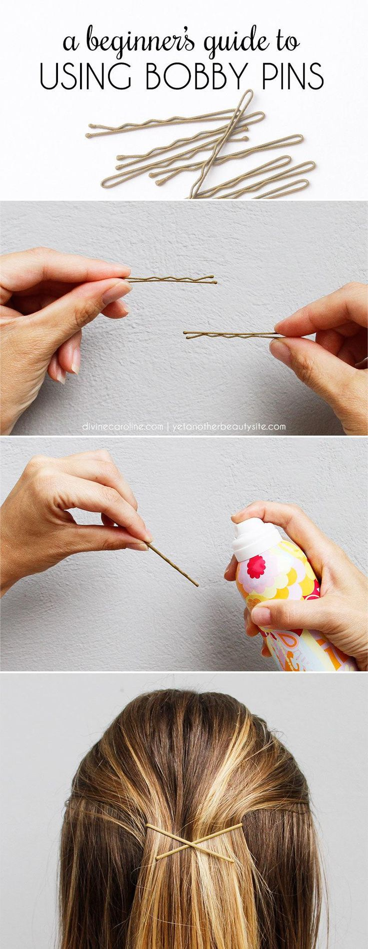 How To Use Bobby Pins: A Beginner's Guide