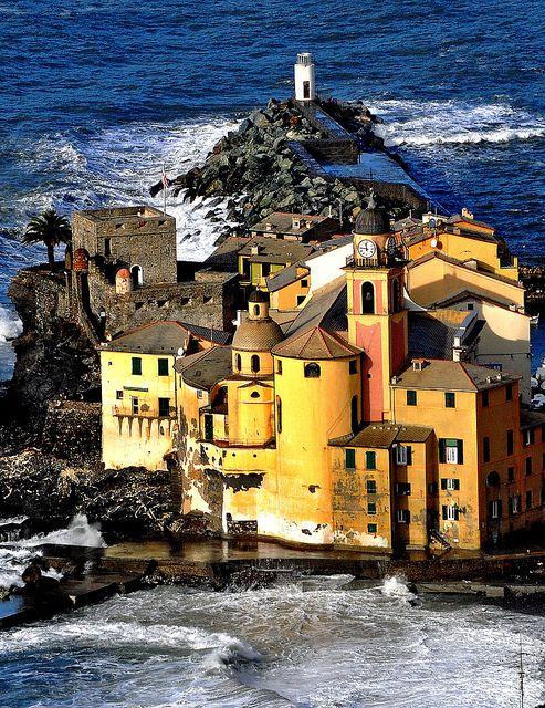 Camogli, Ligúria, Province of Genoa , Italy