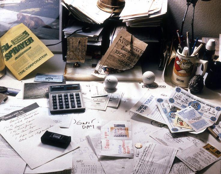 Cooper's desk #TKiSS #TheKnightsinShiningSpandex