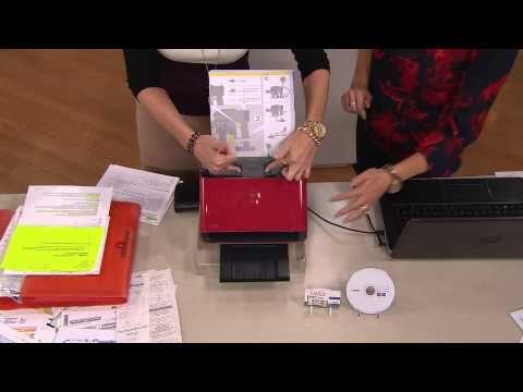 NeatDesk Smart Desktop Organization Scanner with Software Pkg with Jennifer Coffey - YouTube