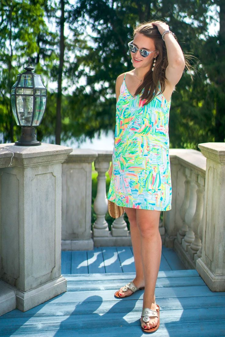 Lilly Pulitzer Lela Silk Dress | Covering the Bases | Fashion and Travel Blog New York City