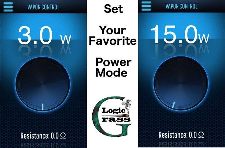 Vaporite Platinum Plus – The Iphone of Vaporizers - Application set Power