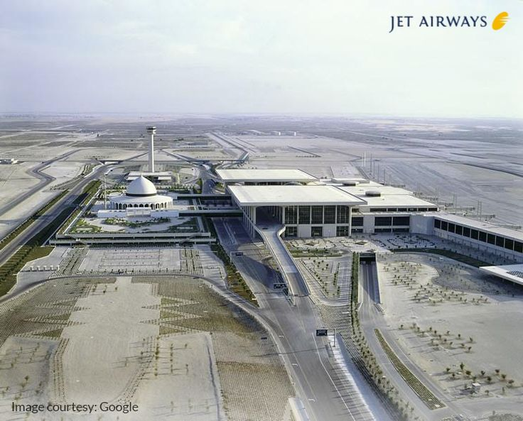 #JetFact: King Fahd International Airport in Dammam, Saudi Arabia, is massive. It sits on 192,000 acres of land!