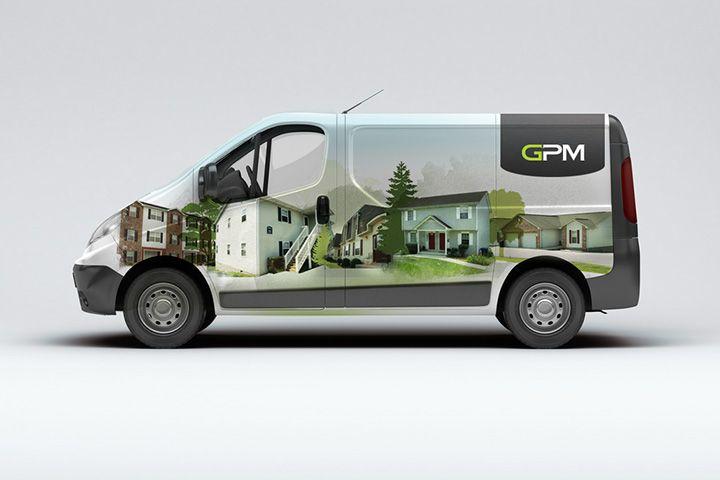 GPM Van Wrap Design http://tenfathoms.co.uk