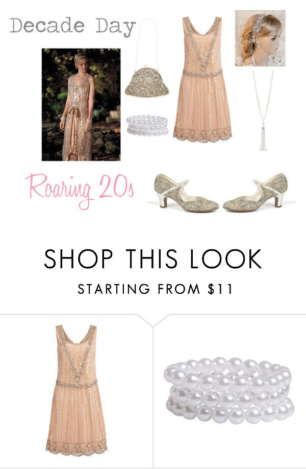 """Decade Day [Homecoming Week Day Two]"" by indigo-sky ❤ liked on Polyvore featuring Tiffany & Co., Pieces, women's clothing, women, female, woman, misses, juniors, tuesday and decade"