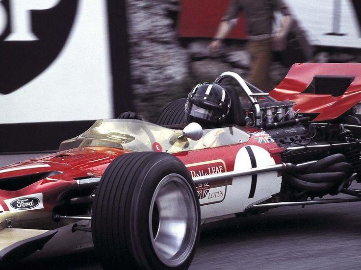 Graham Hill / Monaco - 1968
