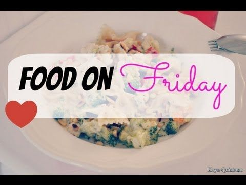 Food on friday: Pasta met witte saus