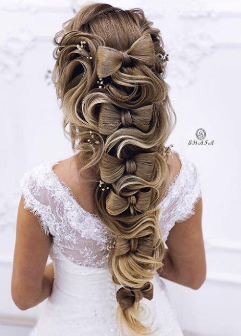 110 besten böhmischen und Hochzeit geflochtenen Frisuren, die Kämmen Köpfe für Mode Mädchen drehen   – Haare